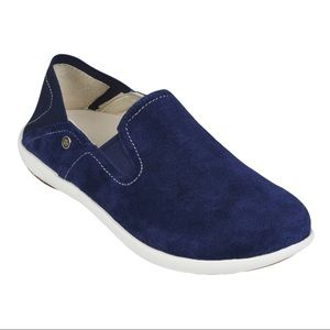 Spenco Siesta Convertible Slip-on Suede Loafers
